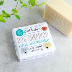 Shampoing solide pour chien